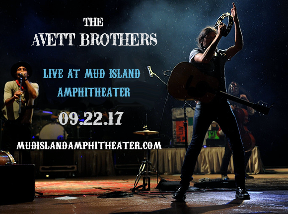 The Avett Brothers at Mud Island Amphitheater